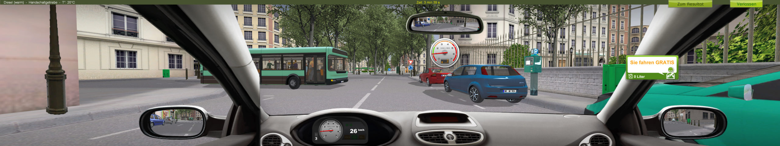 ECO-Driving Fahrschul Trainingssoftware